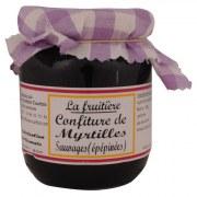 Confiture myrtilles sauvages 250 g