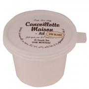 Cancoillotte maison ail vin blanc 250 gr