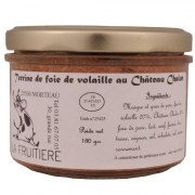 Terrine de foie de volailles 180 gr
