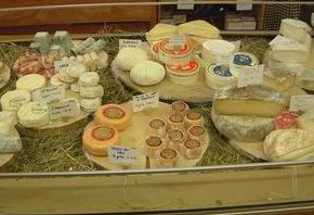 Vitrine de fromage
