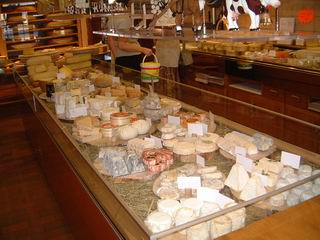 Vitrine e fromages